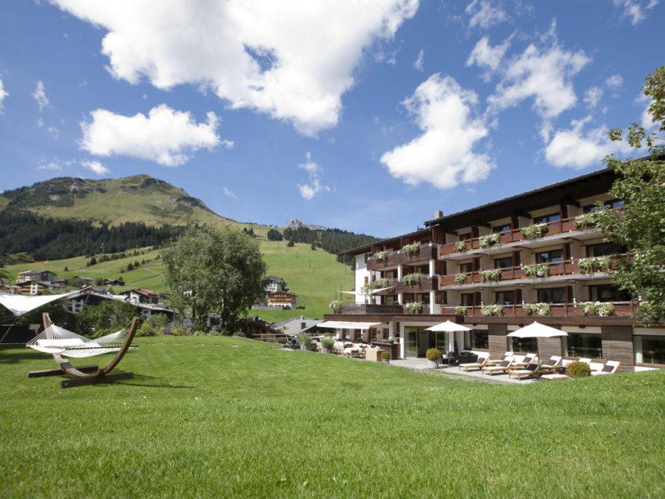 Der Berghof im Sommer