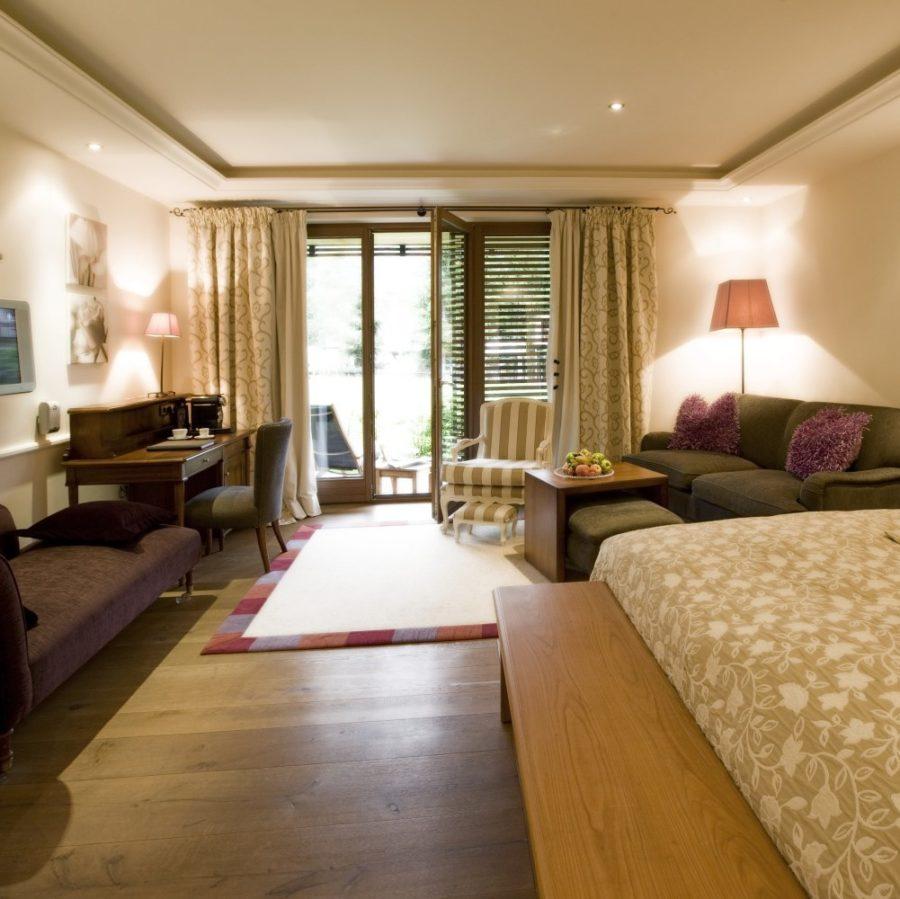 Luxus Doppelzimmer Seekopf im Berghof in Lech