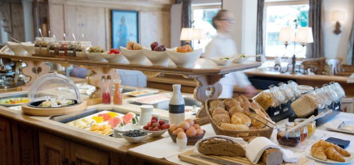Das Berghof Frühstücksbuffet