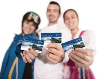 Team Card Lech, einzigartig im Alpenraum
