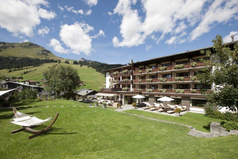 der Berghof in Lech am Arlberg, Sommerurlaub in den Bergen