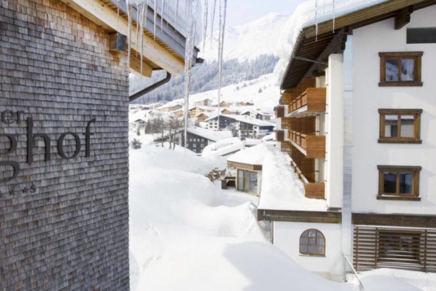 Aussicht im Einzelzimmer Lechtal, Berghof, Lech
