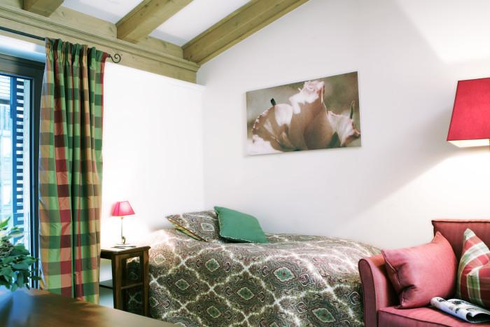 Einzelzimmer Lechtal im Berghof, Lech