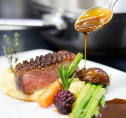 Gourmetrestaurant Berghof in Lech