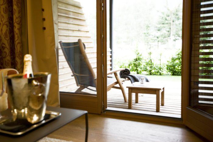 Balkon oder Terrasse im Zimmer Hasenfluh