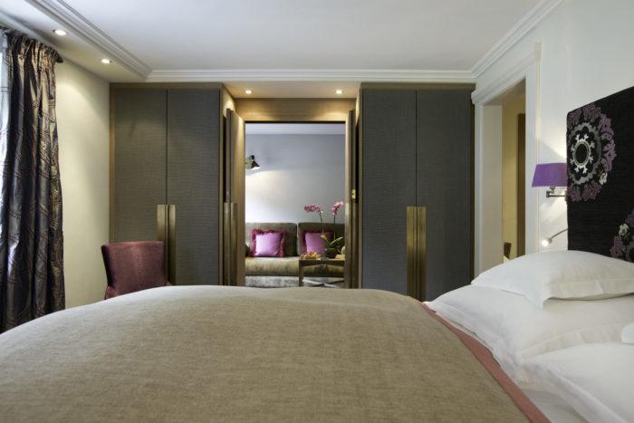 Doppelzimmer Kriegerhorn im Hotel Der Berghof in Lech