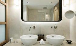 Badezimmer-Rüfikopf
