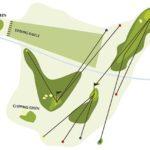 Setting Golf-Übungsanlage, der Berghof Lech